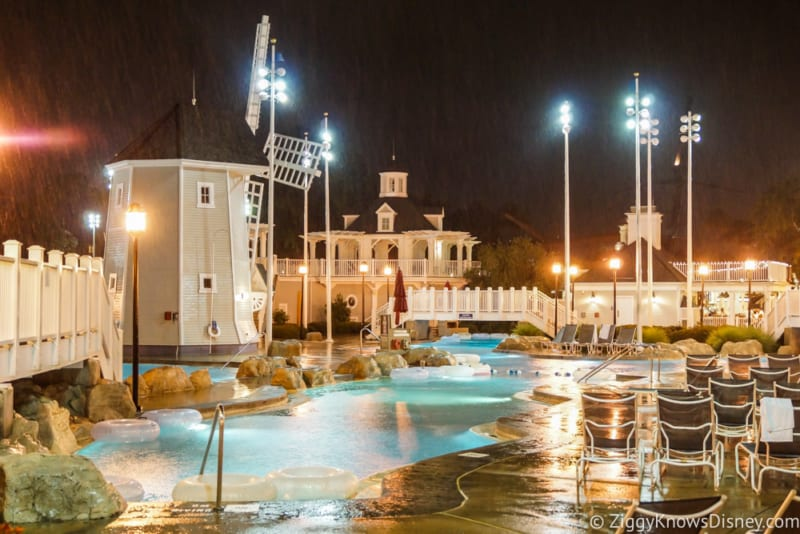 Lightning Strikes Disney's Yacht Club and Guests Evacuated