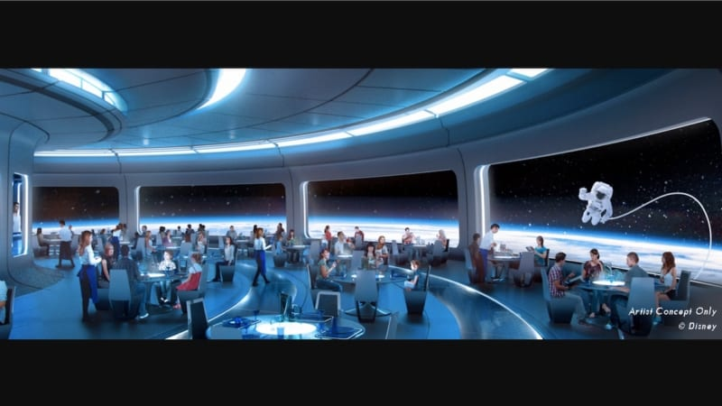 Disney Announces Location for Space Themed Restaurant Coming to Epcot
