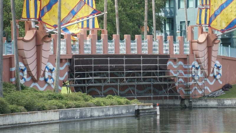 PHOTOS: Friendship Boats Dock and Bridge Currently Under Refurbishment