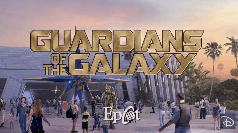 Behind the Scenes Look at Guardians of the Galaxy Coaster Construction