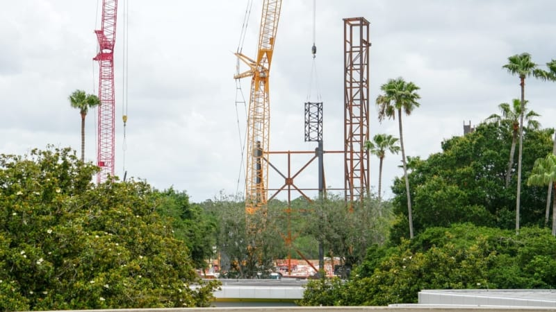 PHOTOS: How Big Will the Guardians of the Galaxy Coaster in Epcot Be?