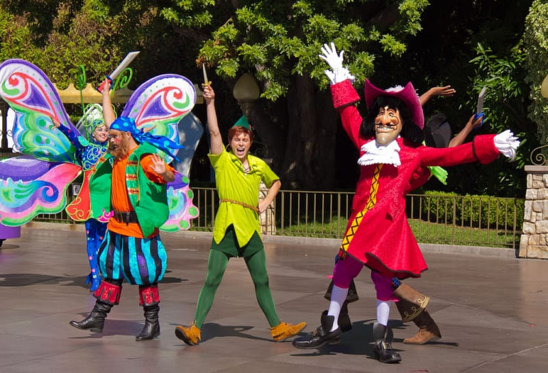 Disney World Celebrating Peter Pan's 65th Anniversary with Special Entertainment