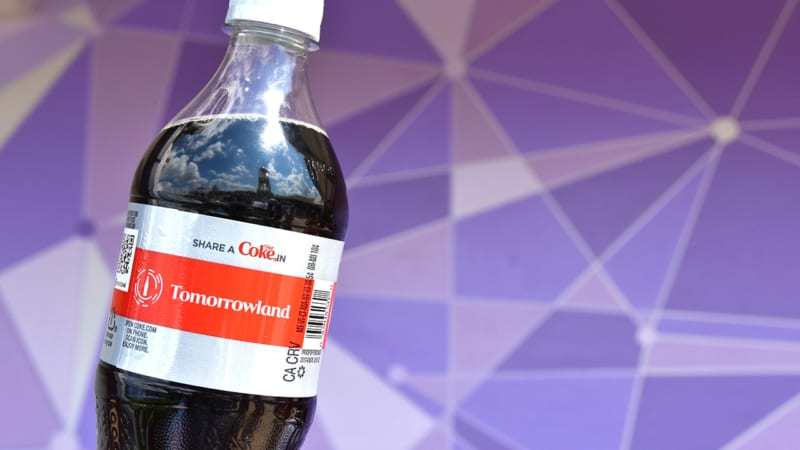 New Attraction-Based Coke Bottles Arrive in Disney Parks Tomorrowland