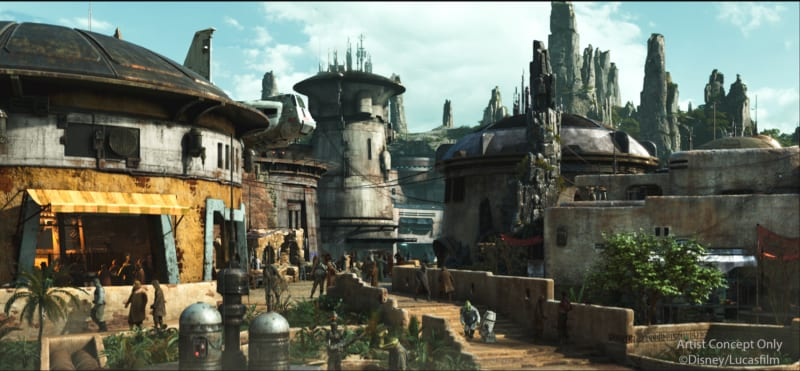 Black Spire Outpost the Official Village Name for Star Wars Galaxy's Edge
