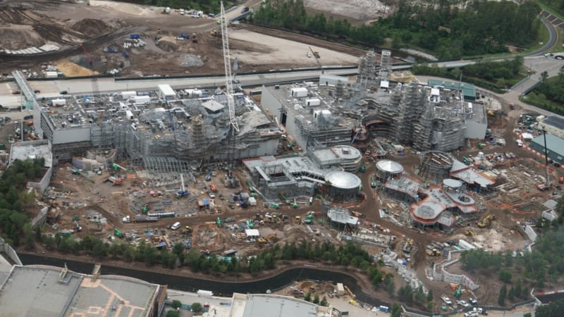 PHOTOS: Star Wars Galaxy's Edge Construction Update May 2018