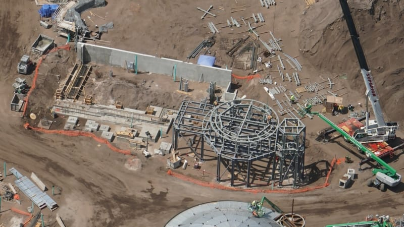 Star Wars Galaxy's Edge new foundation and structure