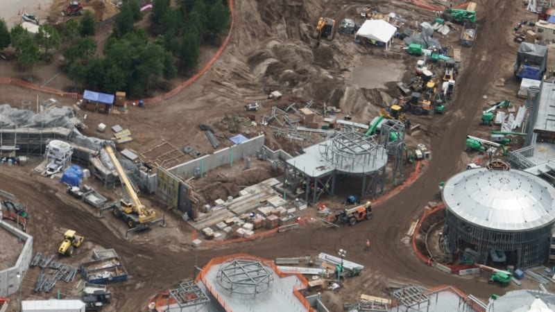 Star Wars Galaxy's Edge Construction Update May 2018