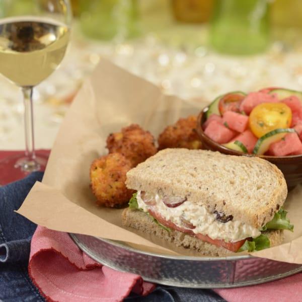 New Menu at The Diamond Horseshoe Restaurant turkey sandwich