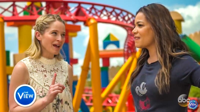 ABC's The View Toy Story Land Special