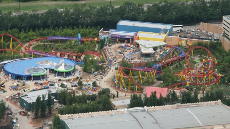 Toy Story Land aerial