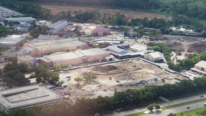 Toy Story Land Update August 2016