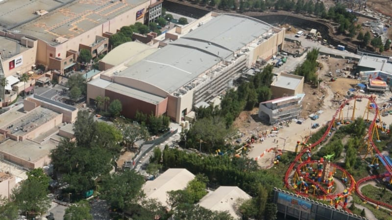 Toy Story Land Construction Update May 2018 Midway Mania theming