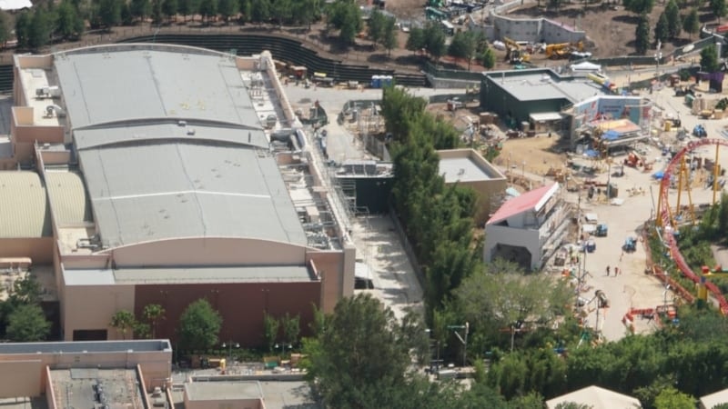 Toy Story Land Construction Update May 2018 Midway Mania