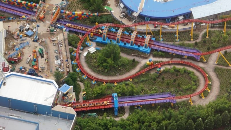Slinky Dog Dash Testing 3 Trains in Latest Toy Story Land Update