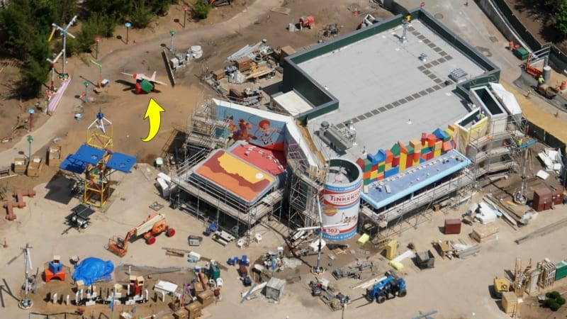 Toy Story Land Construction Update May 2018 Woody's Lunch Box