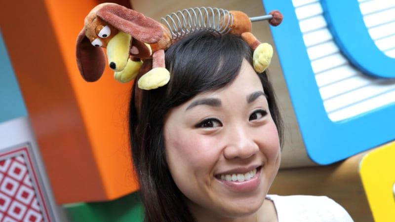 First look Toy Story Land Merchandise slinky dog headband