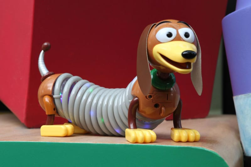 First look Toy Story Land Merchandise light-up slinky dog