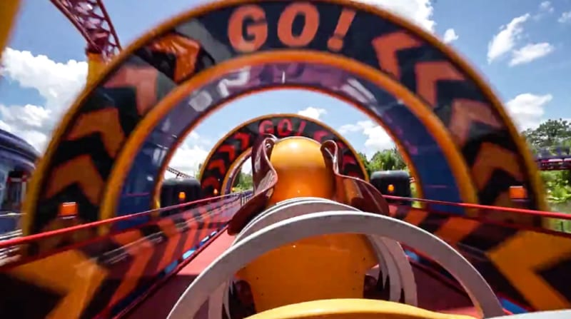 VIDEO: Cast Members Ride Slinky Dog Dash Coaster in Toy Story Land