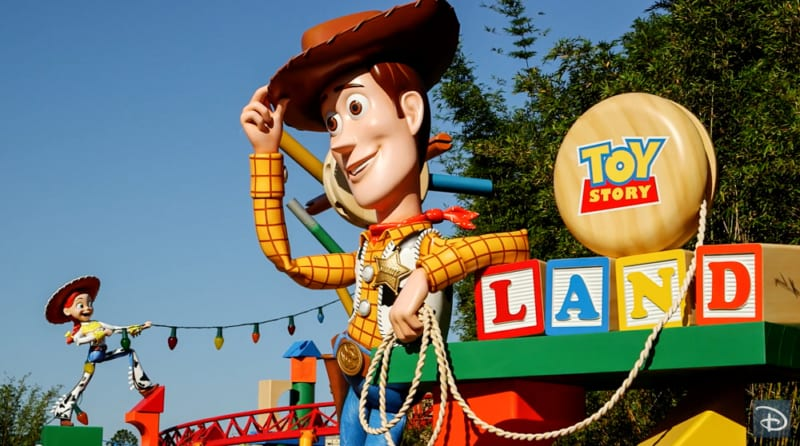 Disney Imagineers Wrap Up Toy Story Land Construction