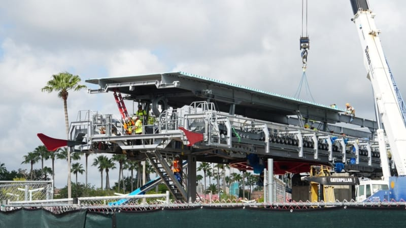Roof Added to Disney Skyliner Station in Hollywood Studios