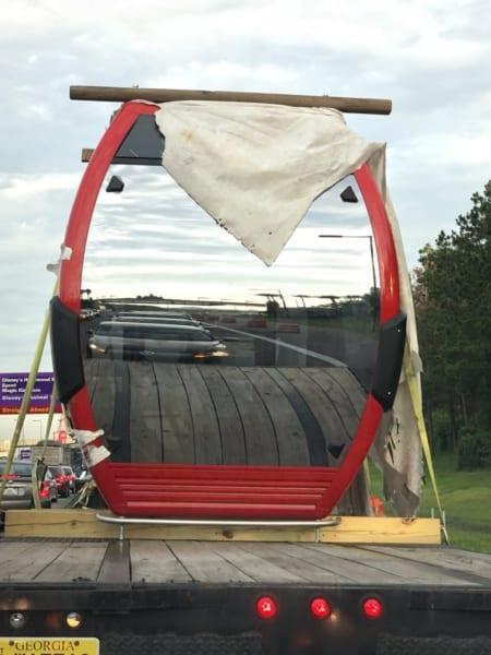 PHOTOS: Disney Skyliner Cable Cars Arrive in Walt Disney World