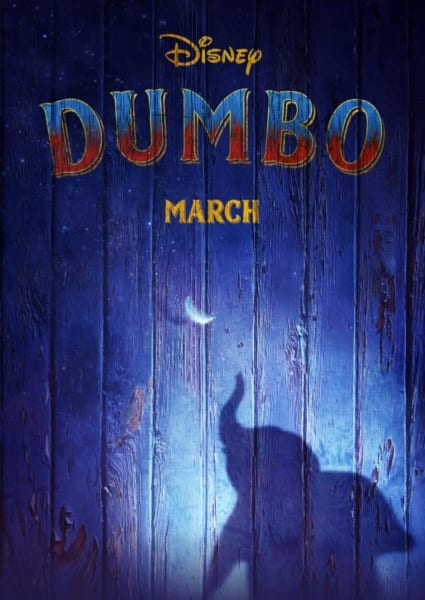 Teaser Trailer for Tim Burton's Dumbo poster