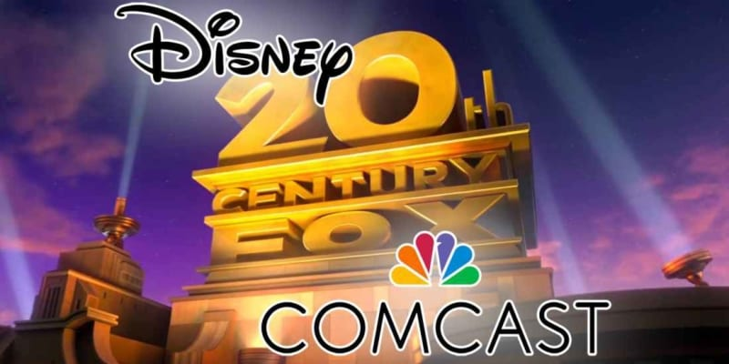 Disney Increases Bid for Fox Assets to $71 Billion Countering Comcast