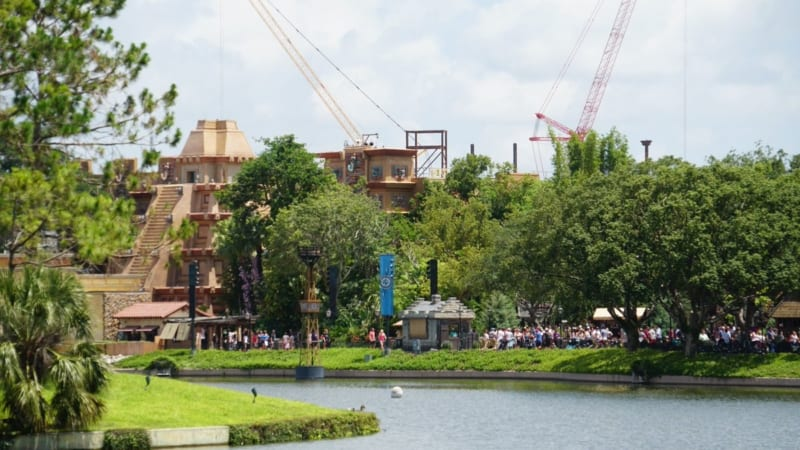 Guardians of the Galaxy Coaster over Mexico