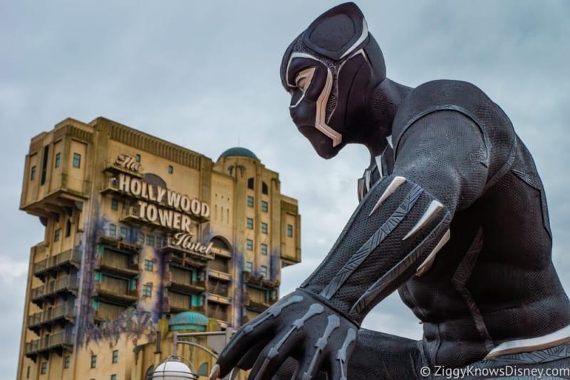 Marvel Statues arrive Marvel Summer of Super Heroes Walt Disney Studios Park Black Panther