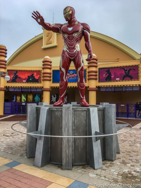 Marvel Statues arrive Marvel Summer of Super Heroes Walt Disney Studios Park Iron Man