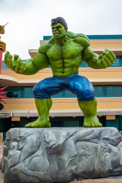 Marvel Statues arrive Marvel Summer of Super Heroes Walt Disney Studios Park The Hulk
