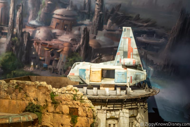New Star Wars Galaxy's Edge Model Debuts Hollywood Studios