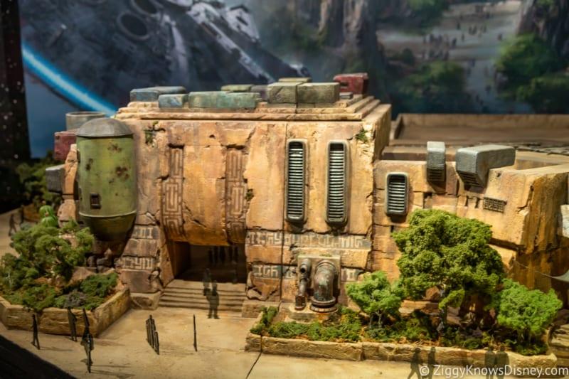 New Star Wars Galaxy's Edge Model Debuts Hollywood Studios