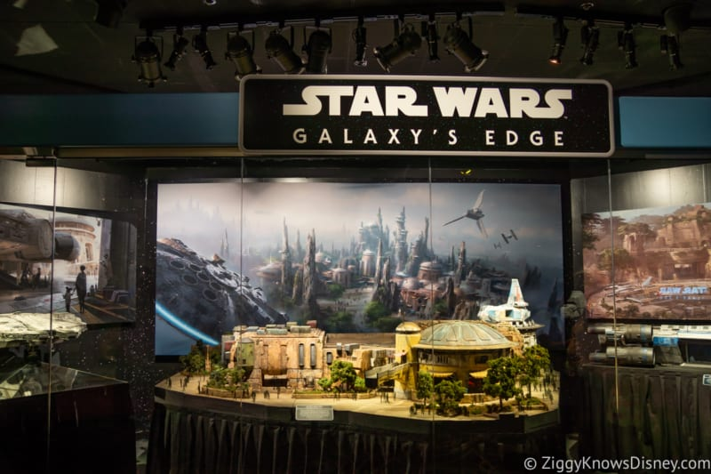 PHOTOS: New Star Wars Galaxy's Edge Models Debut in Hollywood Studios
