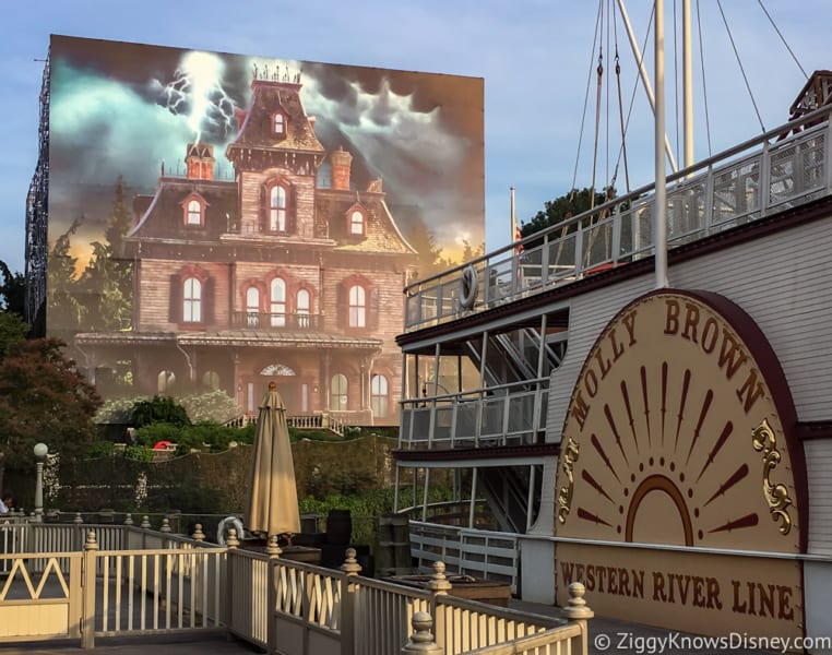 Phantom Manor Refurbishment Extended to Early 2019 in Disneyland Paris