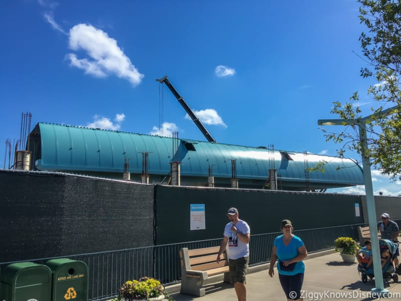 photo report Disney's Hollywood Studios June 2018, Disney Skyliner station