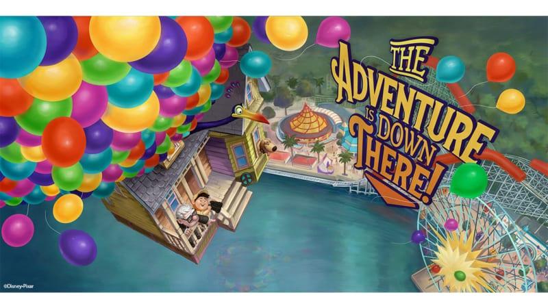New Pixar Billboards Coming to Pixar Pier in Disney California Adventure Park UP!