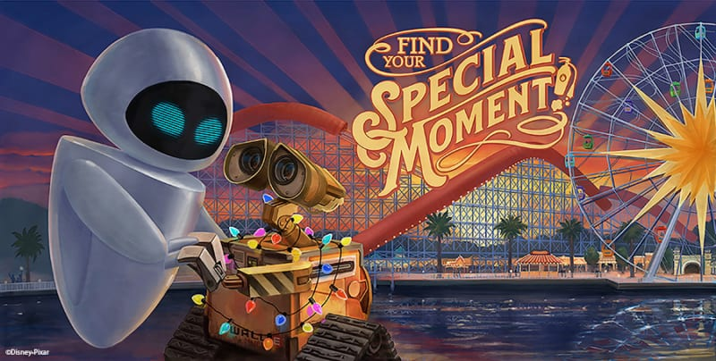 New Pixar Billboards Coming to Pixar Pier in Disney California Adventure Park Wall-E