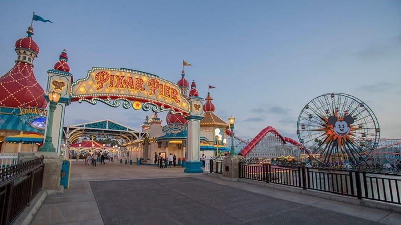 Pixar Pier Now Open in Disney California Adventure