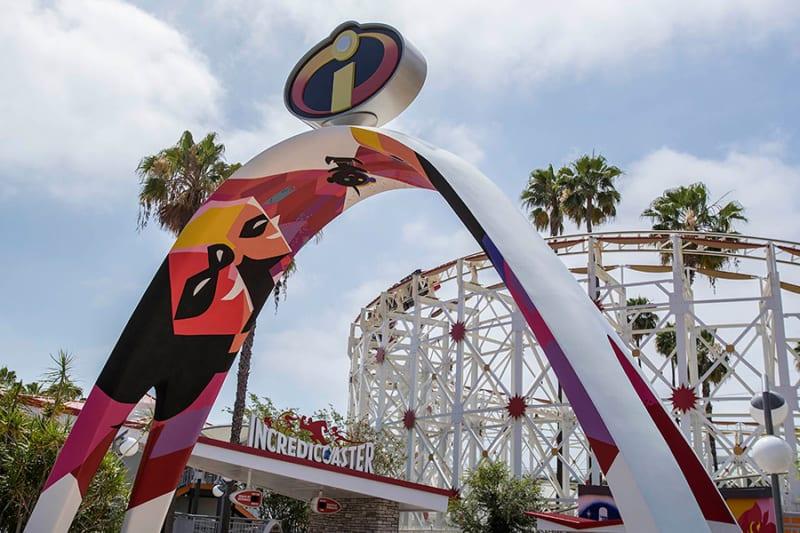 Pixar Pier Now Open in Disney California Adventure incredicoaster