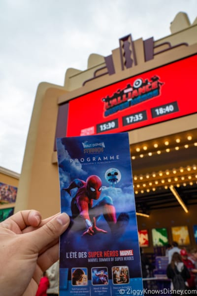 Marvel Super Heroes United Review ticket