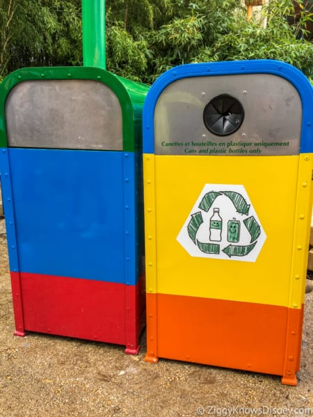 Sneak Peak at Toy Story Land Theming Disneyland Paris garbage cans