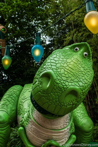 Sneak Peak at Toy Story Land Theming Disneyland Paris Rex figure 2