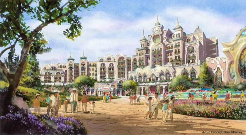 3 New Lands Announced for Tokyo DisneySea Expansion Project new Disney hotel