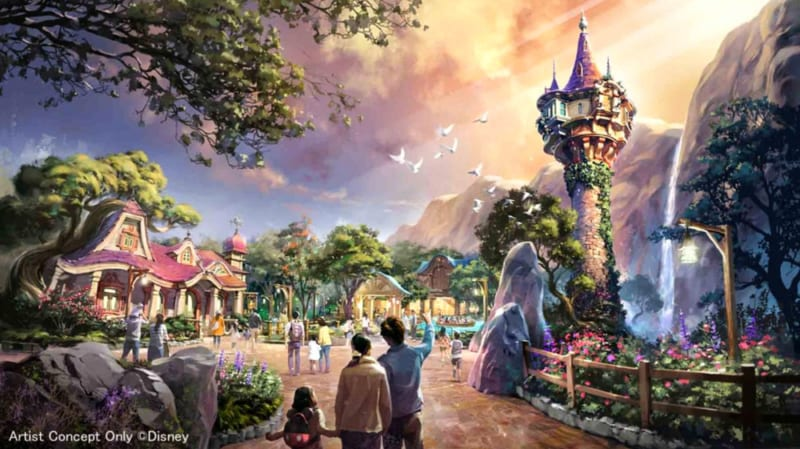 3 New Lands Announced for Tokyo DisneySea Expansion Project Tangled Land