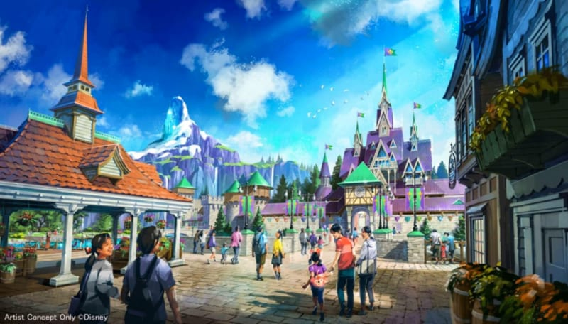 3 New Lands Announced for Tokyo DisneySea Expansion Project Frozen Land