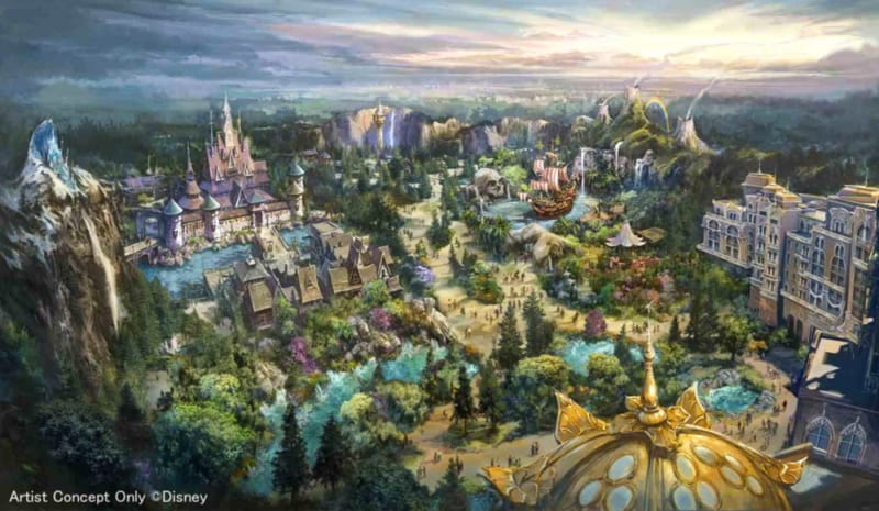3 New Lands Announced for Tokyo DisneySea Expansion Project
