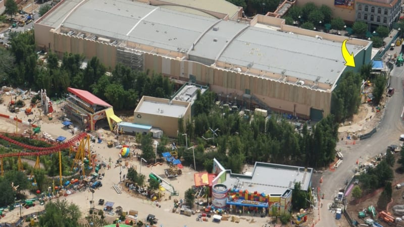Toy Story Land Construction Update June 2018