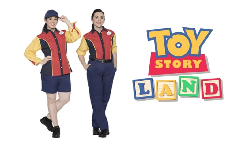 Toy Story Land Cast Member Costumes