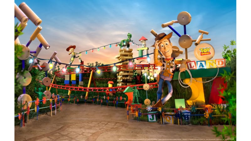 Toy Story Land Dedication Live Streaming Event